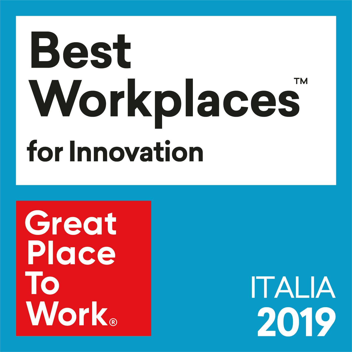 Best Workplaces for innovation 2019